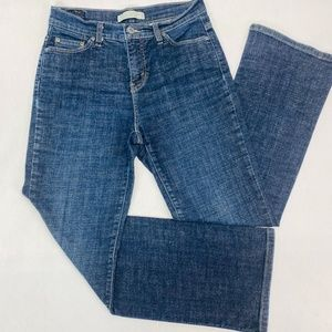 Levis 512 Womens Jeans 6S Blue Boot Cut Perfectly